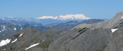 Mt Blanc massief