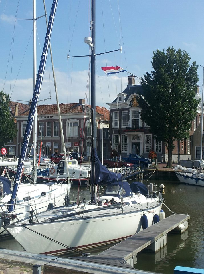 Gestrand in Harlingen....