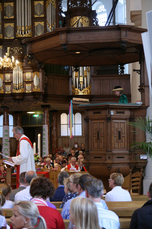 Kinderdienst in de Grote of Martinikerk Sneek