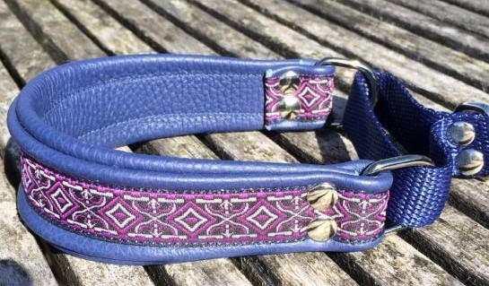 Windhonden halsband made by Saluna Design