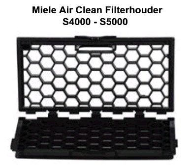 miele air clean filterhouder s4000-s5000