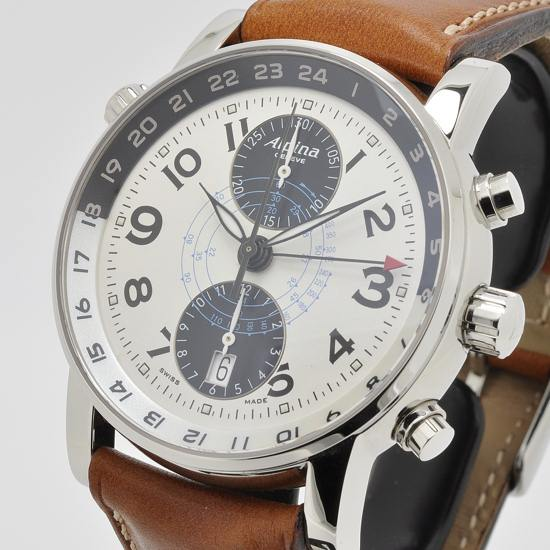 Alpina Startimer GMT Geneve Watch