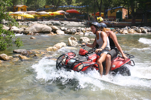 Quad safari Marmaris en Icmeler