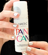 spray on nagellak