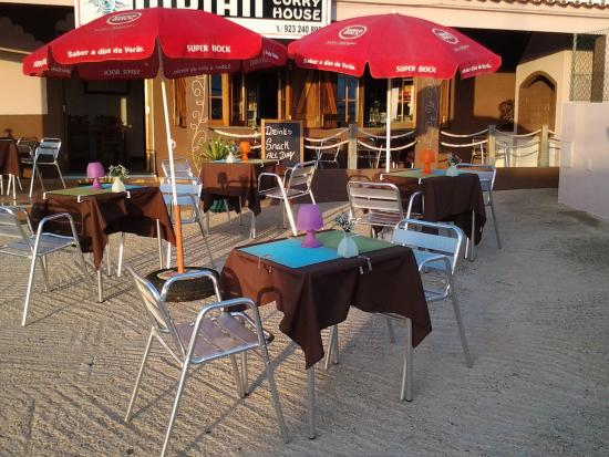 Restaurant indian currie house - costa vicentina