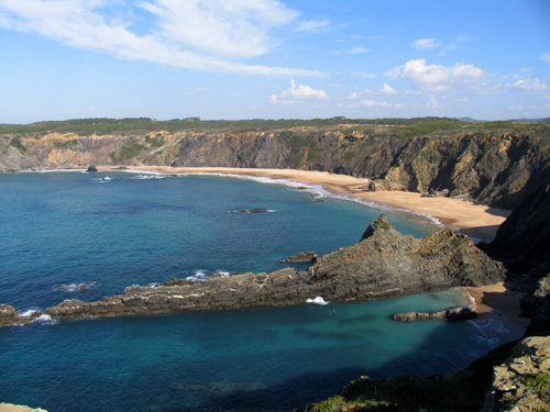 Praia dos Machado in het park Costa Vicentina